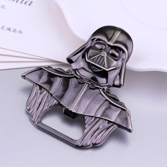 Darth Vader keychain - iconic solid pewter metal Star Wars keychain