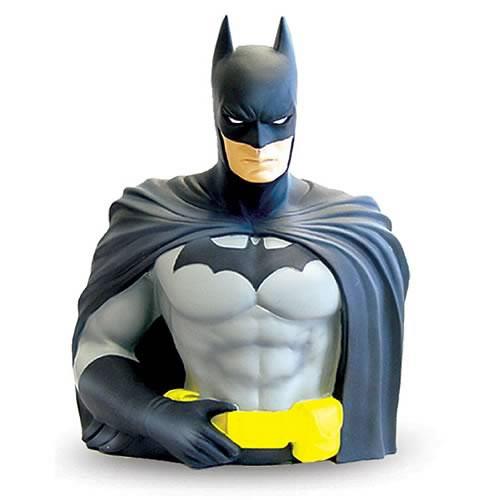 Batman Bust Bank - DC Vinyl Resin Batman Bust Figure