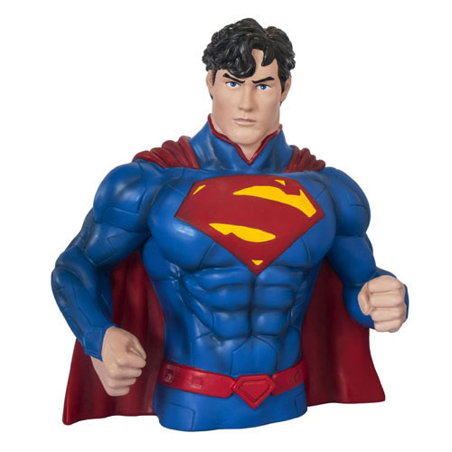 DC Bust Banks - Superman New 52 Version Superman Bank
