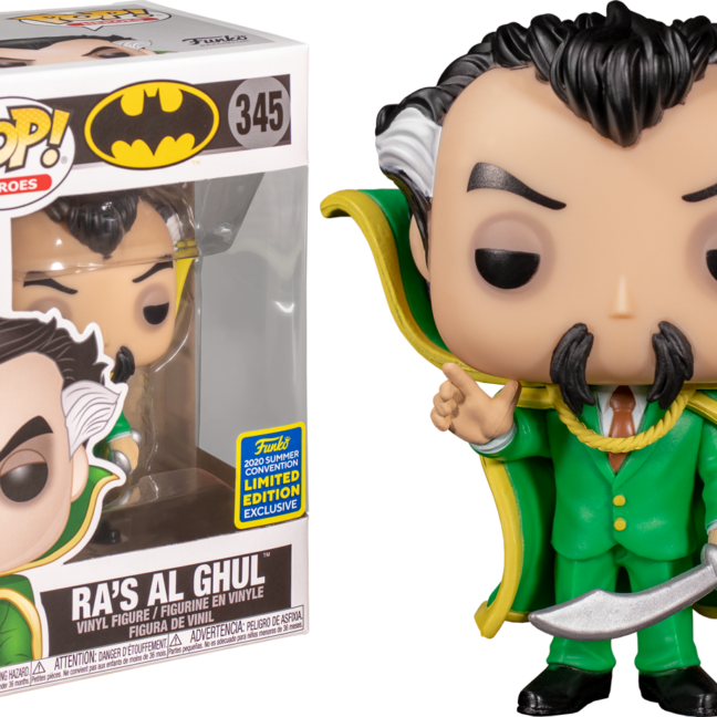 DC Comics Ra's al Ghul Pop! Vinyl Figure - 2020 Convention Exclusive large