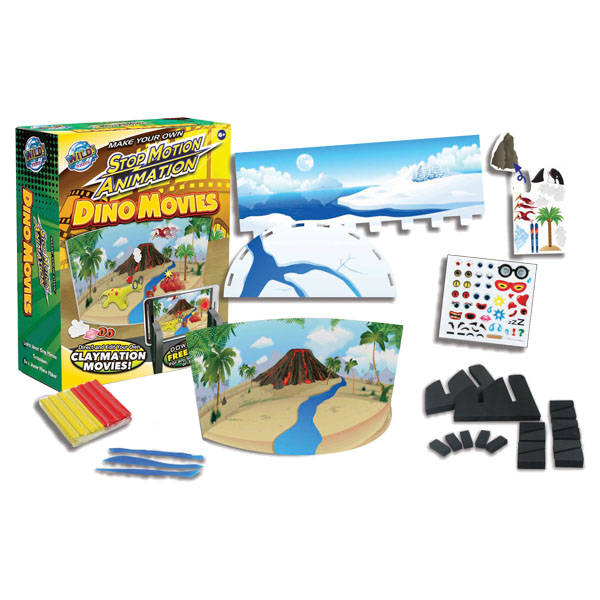 Dinosaur Stop Motion Animation Kit