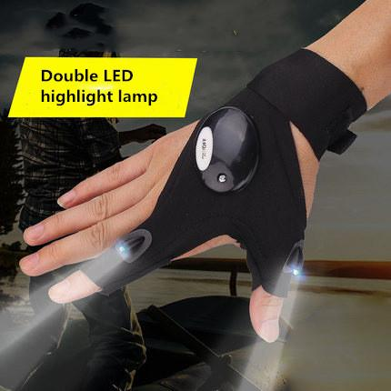 Futuristic LED Finger Lights - Double LED lamp