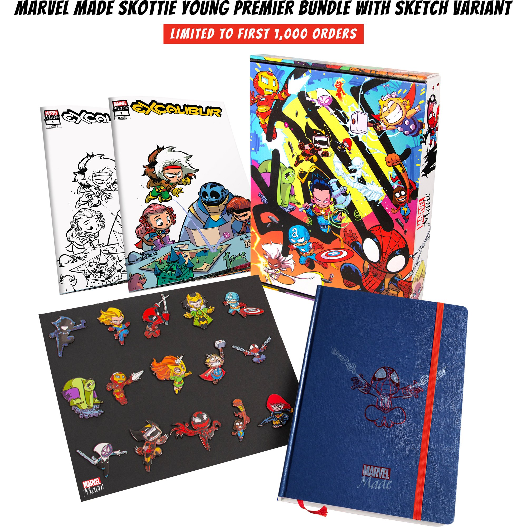 New Marvel Made exclusive collections