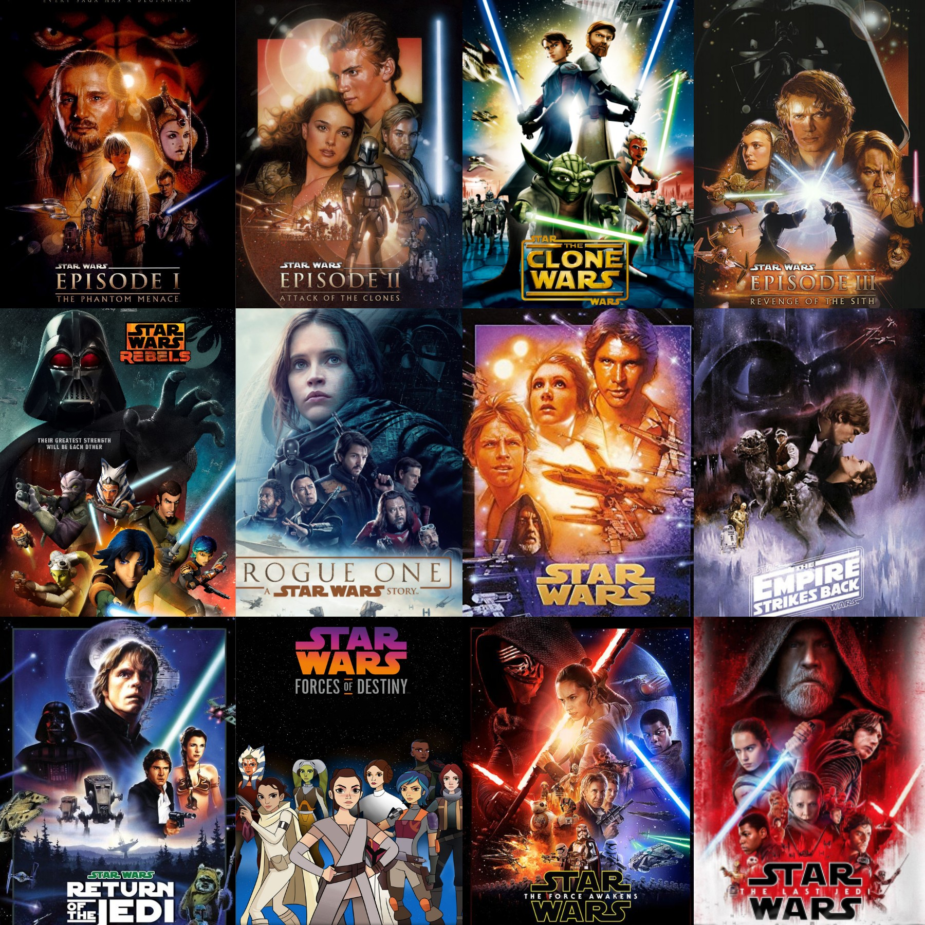 Every Star Wars film has the wrong name. Here's how to swap the names so it makes more sense.
