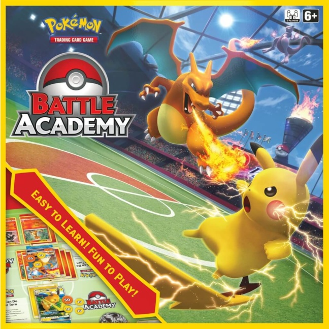 Pokemon Battle Academy Trading Card Game - Boxed set front
