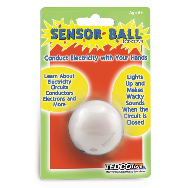 Electric Sensor Ball - Conduct Electricity with your Hands
