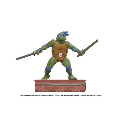teenage mutant ninja turtles leonardo 18 scale statue