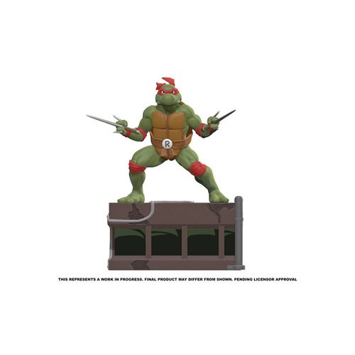 teenage mutant ninja turtles raphael 18 scale statue