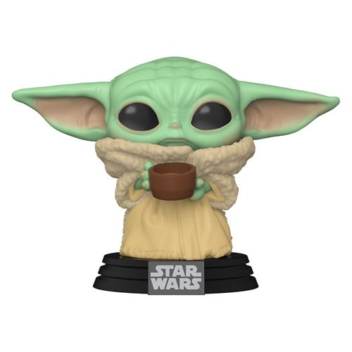 The Mandalorian The Child with Cup Pop! Vinyl Figure (#378)