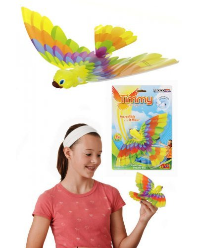 The original Timmy Bird Ornithopter toy - flies by flapping wings like a real bird