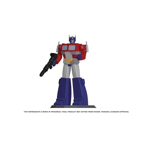 transformers optimus prime 9 inch statue