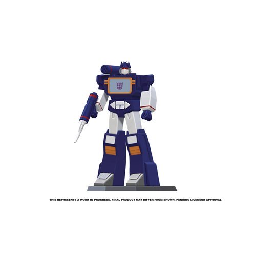 transformers soundwave 9 inch statue