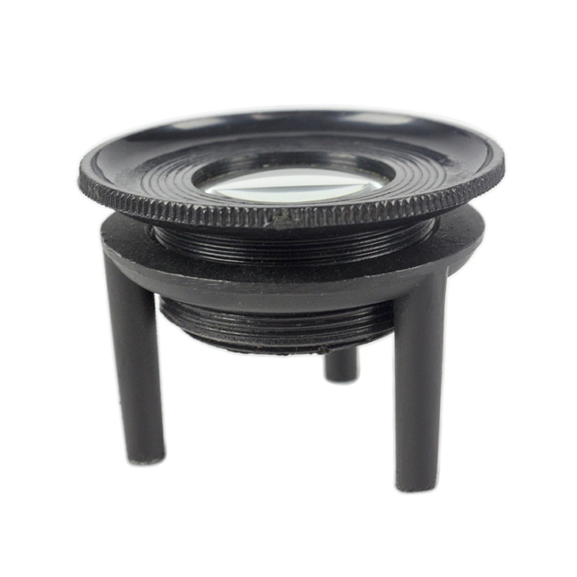 Tripod Magnifier - Hi-Quality Laboratory-Grade 10x Magnifier