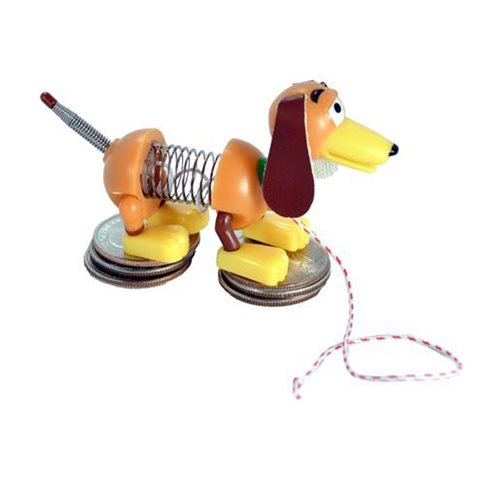 World's Smallest Slinky Dog - working mini slinky dog toy