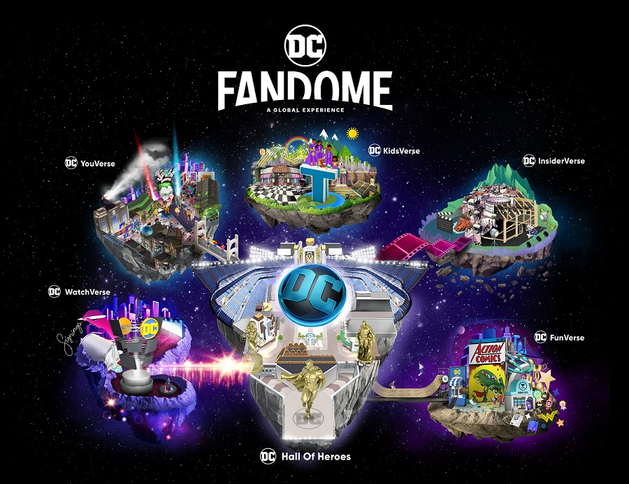 DC Fandome coming August 22
