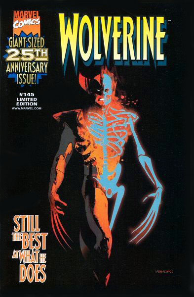 Wolverine 145 Nabisco Mail Away Wraparound Variant by Bill Sienkiewicz