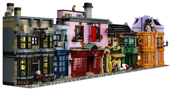 LEGO Harry Potter Diagon Alley - All Buildings in set