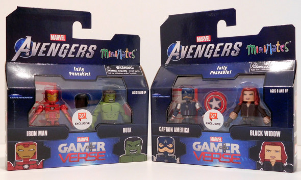 Gamerverse Avengers Get New Minimates at Walgreens Stores