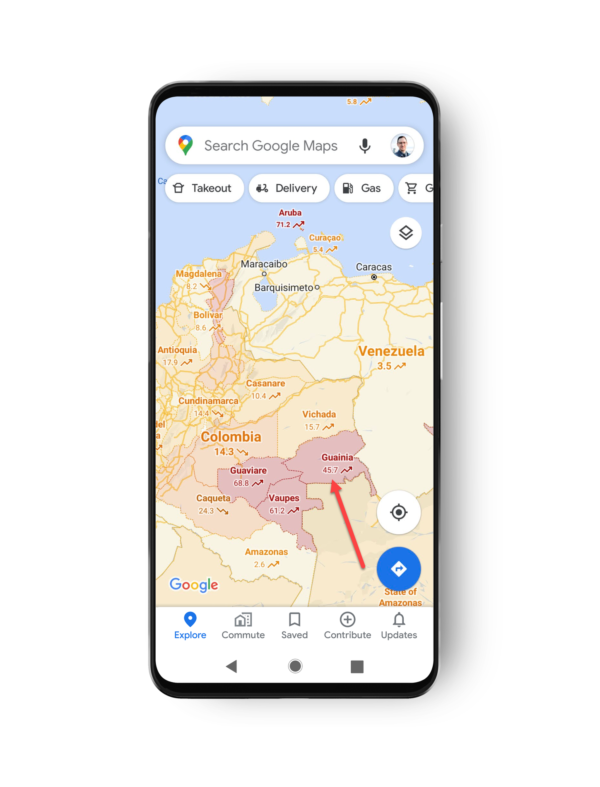 Google COVID-19 layer added to Google Maps