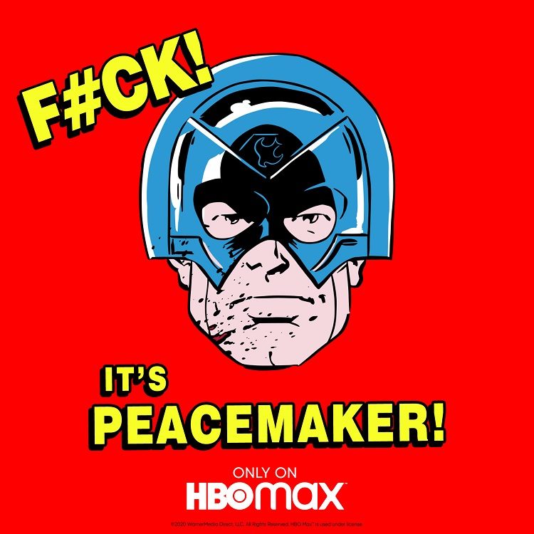 F#CK It's Peacemaker only on HBO Max