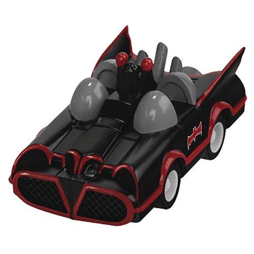 Retro Batman Batmobile - Batman 1966 TV Series Batmobile 80th Anniversary Pull Back Car