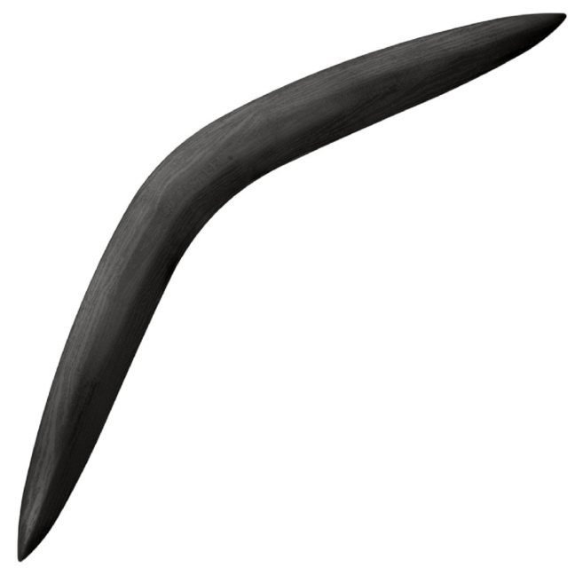 Cold Steel 28-inch hunting boomerang and tactical throwing stick