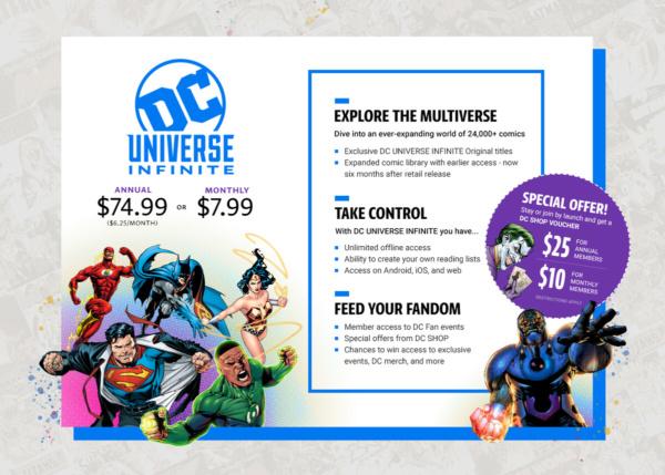 DC Universe becomes DC Universe Infinite