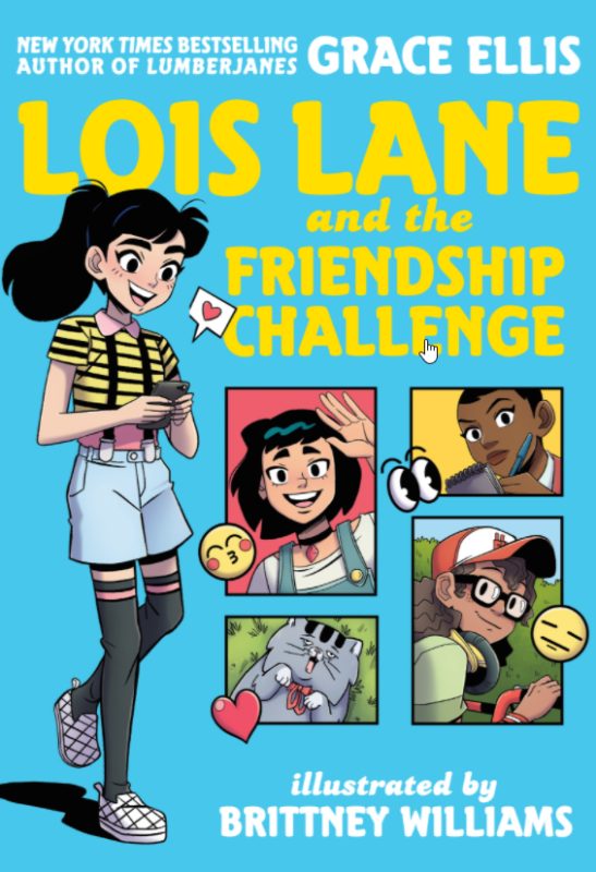 Lois Lane and the Friendship Challenge cover