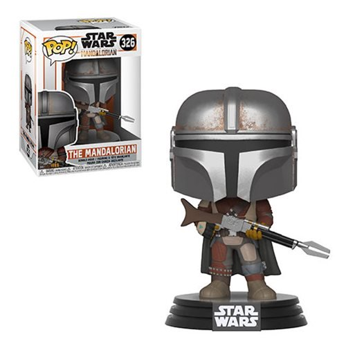 Mandalorian Pop Figure - Star Wars: The Mandalorian Pop! Vinyl Figure