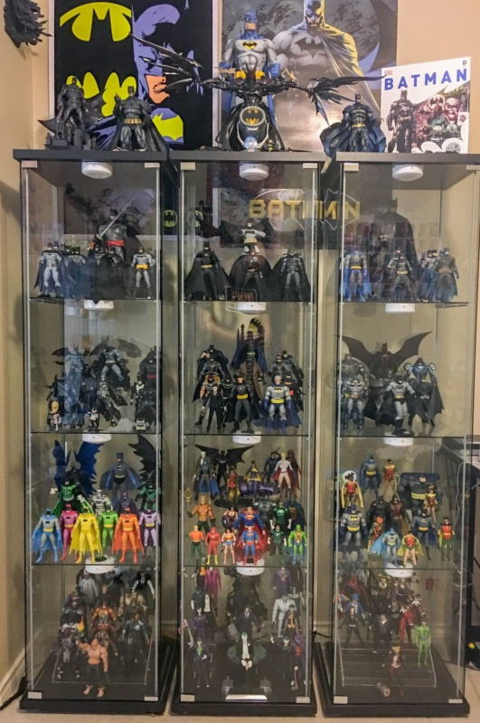 Action figure collecting - A Batman action figure collection