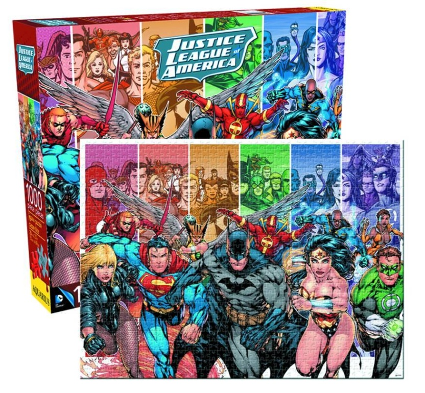 DC Comics Justice League of America Puzzle - 1,000-Piece Jigsaw Puzzle