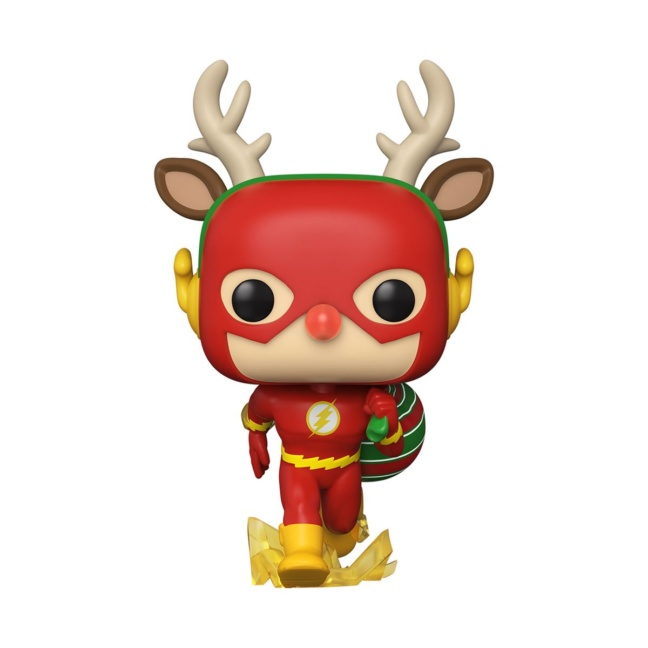 DC Holiday Rudolph Flash Figure - Funko Pop! Vinyl Figure