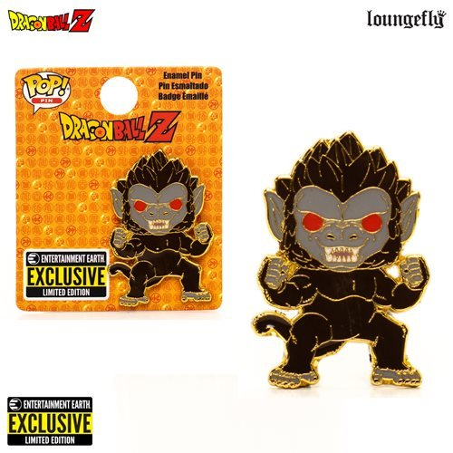 Dragon Ball Z Great Ape Enamel Pin - This Pop! pin is a limited-edition exclusive.