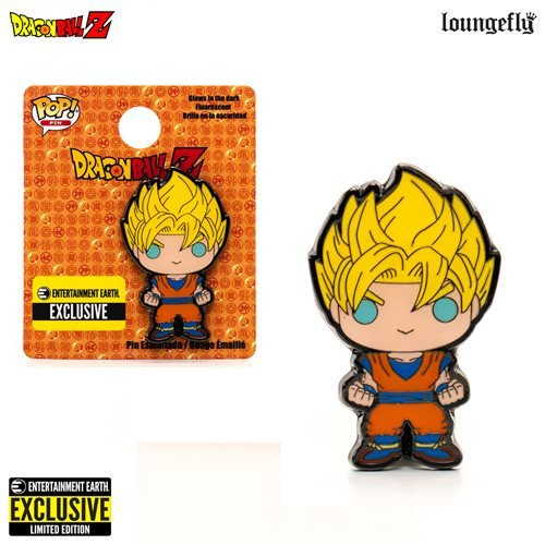 Exclusive Dragon Ball Z Super Saiyan Goku Pop! Enamel Pin