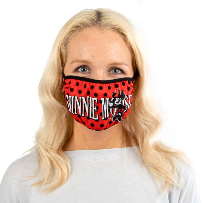 Minnie Mouse Face Mask - Disney Adult Adjustable Face Mask/Cover