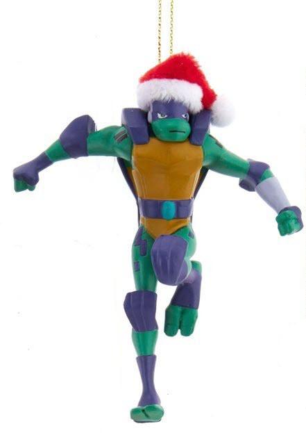 Teenage Mutant Ninja Turtles Christmas Ornament Donatello