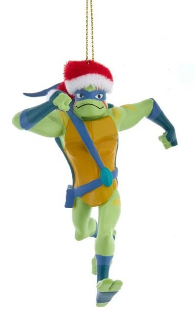 Teenage Mutant Ninja Turtles Christmas Ornament Leonardo