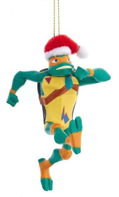Teenage Mutant Ninja Turtles Christmas Ornament Michaelangelo
