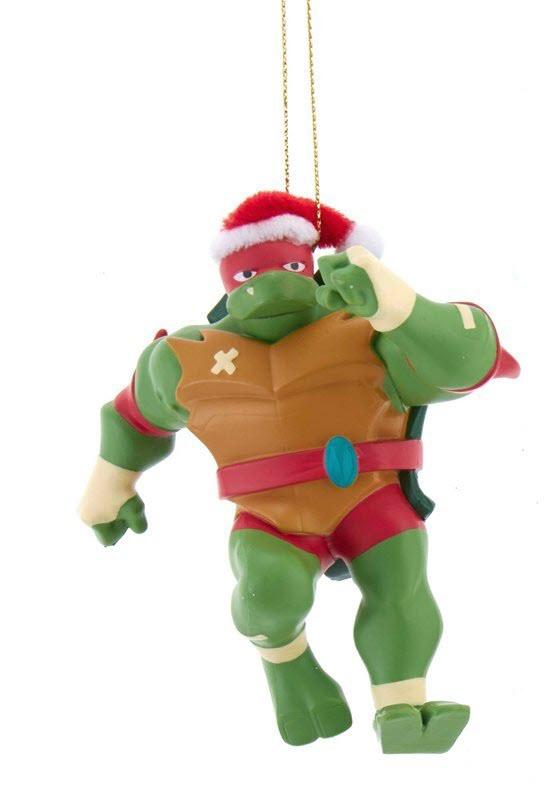 Teenage Mutant Ninja Turtles Christmas Ornament Raphael