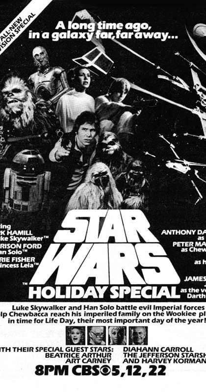 Star Wars Holiday Special movie poster