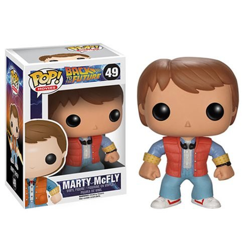 Back to the Future Marty McFly Funko Pop! Vinyl Figure
