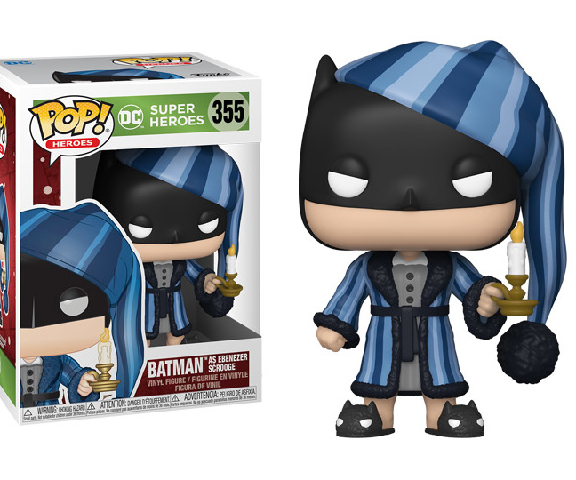Batman Holiday Scrooge Funko Pop! - DC Comics Batman Christmas Figure with box