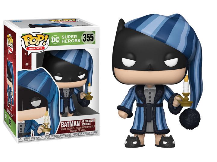 Batman Holiday Scrooge Funko Pop! - DC Comics Batman Christmas Figure with box