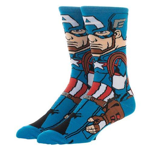 Captain America Endgame Socks back package