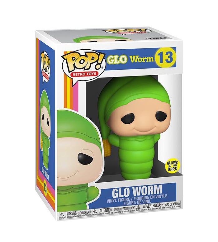 Retro Glo Worm Glow in the Dark Funko Pop! Vinyl Figure