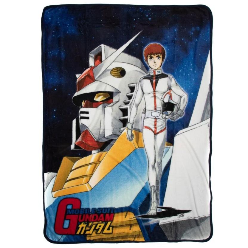 Gundam blanket - Gundam Anime Original Cover Fleece Throw Blanket