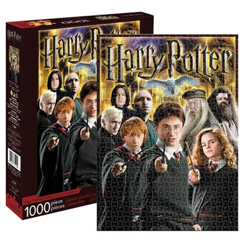 Harry Potter Puzzle - Harry Potter Collage 1000-Piece Puzzle