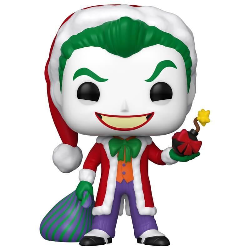 Joker Santa with Bomb - DC Holiday Santa Joker Funko Pop! Vinyl Figure
