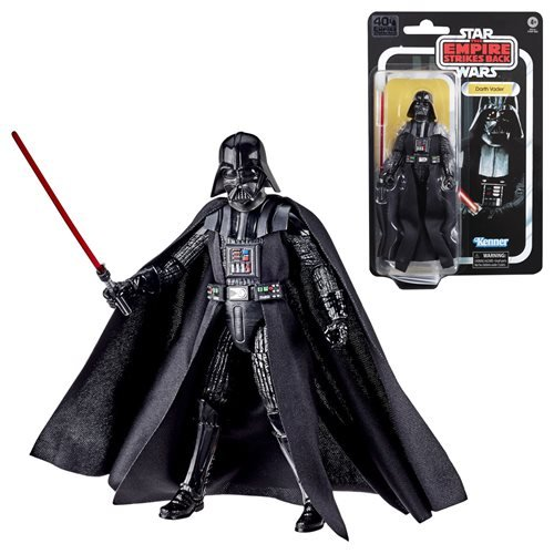 Star Wars The Empire Strikes Back 40th Anniversary Black Series ESB Darth Vader Action Figure