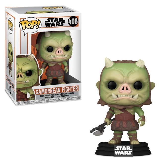The Mandalorian Gamorrean Fighter Pop Vinyl Figure with box